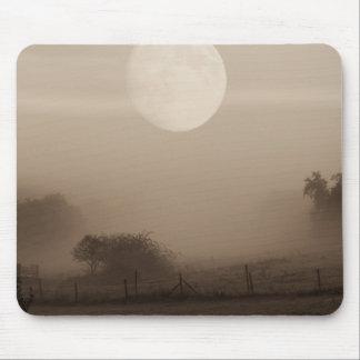 moon fog mouse pad