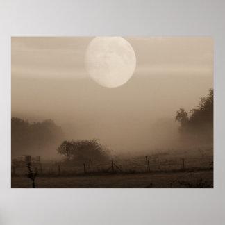 moon fog poster