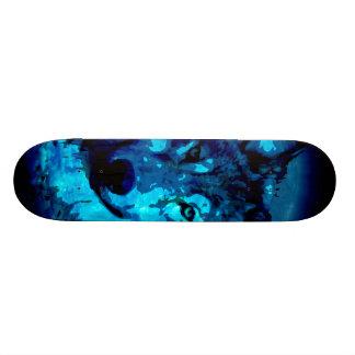 Moon Glow Wolf Skateboard