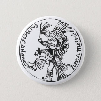 Moon god black - Amazing Mexico Button