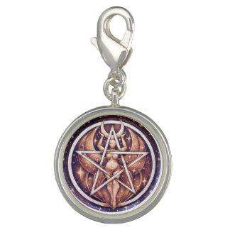 Moon Goddess Pentacle Charm