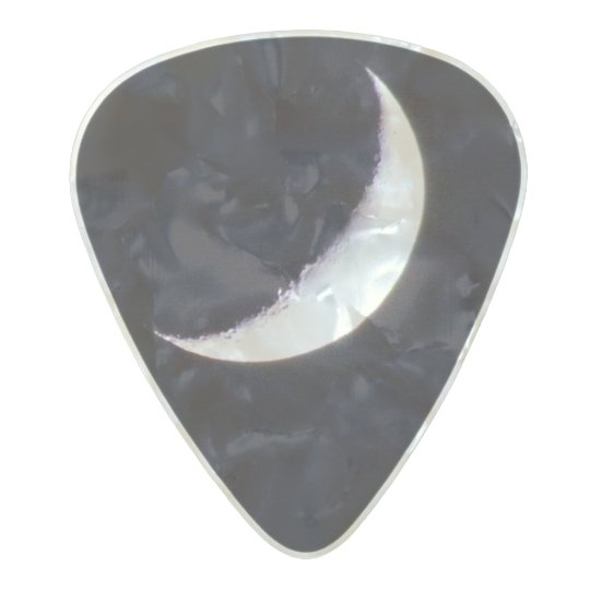 moon guitar pick pearl celluloid guitar pick