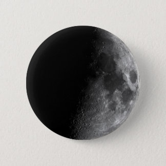 Moon, Half Moon 2 Inch Round Button