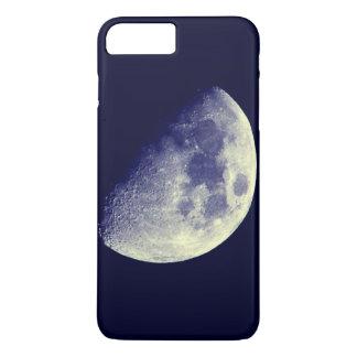 Moon in blue sky iPhone 7 plus case