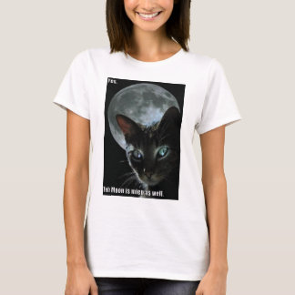 moon is mine lol cat T-Shirt