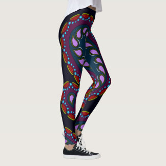 Moon Jimmies Paisley Leggings
