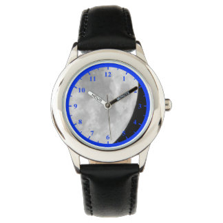 Moon, Kid's Stainless Steel Watch