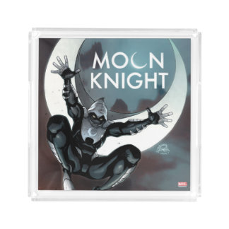 Moon Knight Cover Acrylic Tray