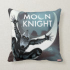 Moon Knight Cover Throw Pillow