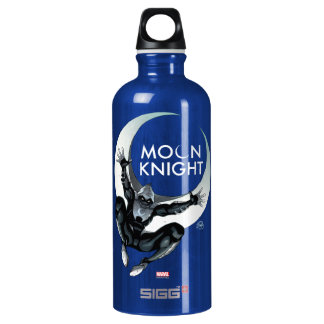 Moon Knight Cover Water Bottle