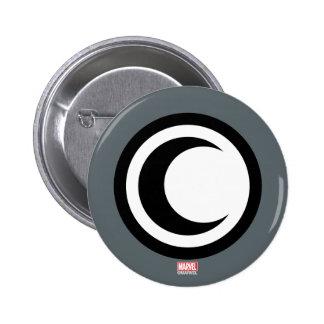 Moon Knight Logo 2 Inch Round Button