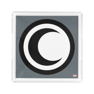 Moon Knight Logo Acrylic Tray