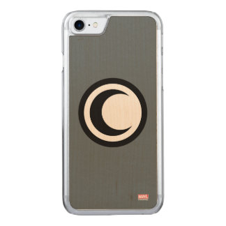 Moon Knight Logo Carved iPhone 8/7 Case