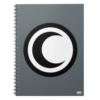 Moon Knight Logo Notebook