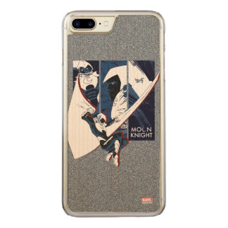 Moon Knight Panels Carved iPhone 7 Plus Case