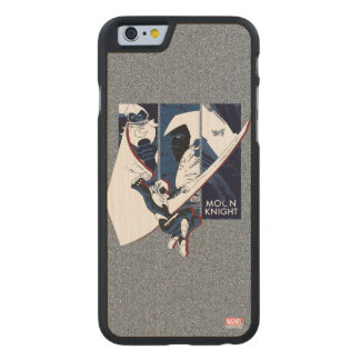 Moon Knight Panels Carved Maple iPhone 6 Case