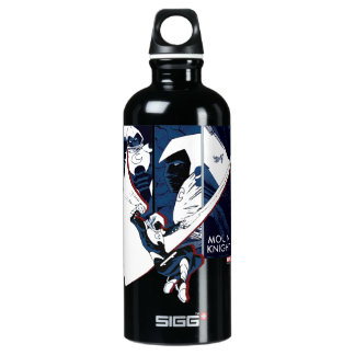 Moon Knight Panels Water Bottle