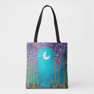 Moon Lagoon Tote Bag