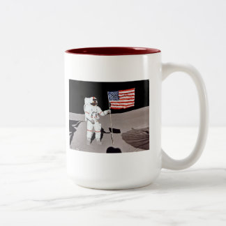 Moon Landing Astronaut Coffee Mug