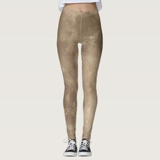 Moon Leggings Cool Lunar Surface Legging Pants