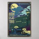 Moon Light Tour Illustration