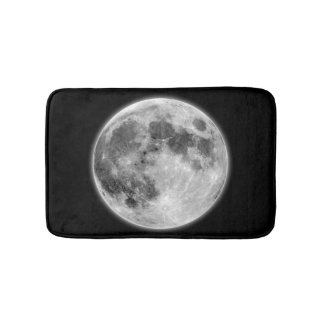 Moon Like A Moon In The Dark Night Bath Mat