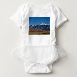 Moon Lit Colorado Great Sand Dunes Starry Night Baby Bodysuit