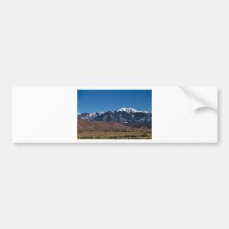 Moon Lit Colorado Great Sand Dunes Starry Night Bumper Sticker