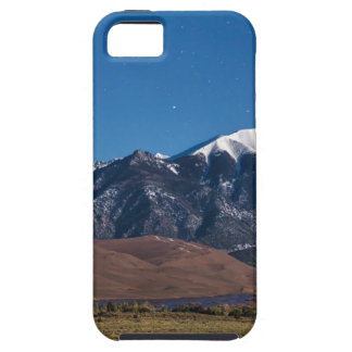 Moon Lit Colorado Great Sand Dunes Starry Night iPhone 5 Cases