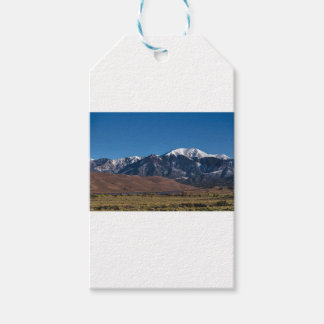 Moon Lit Colorado Great Sand Dunes Starry Night Pack Of Gift Tags