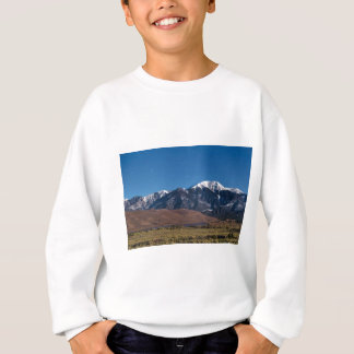 Moon Lit Colorado Great Sand Dunes Starry Night Sweatshirt