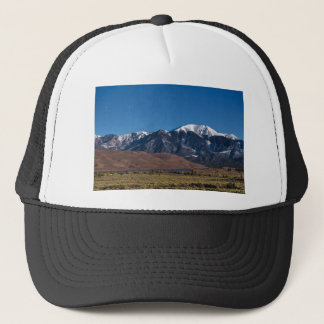 Moon Lit Colorado Great Sand Dunes Starry Night Trucker Hat