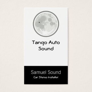 Moon Luna Tango Business Card