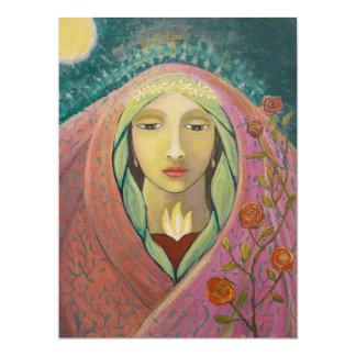 """Moon Magdalene 6.5"""" x 8.75"""" card"""