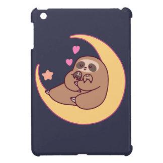Moon Mama Sloth and Babies iPad Mini Cases