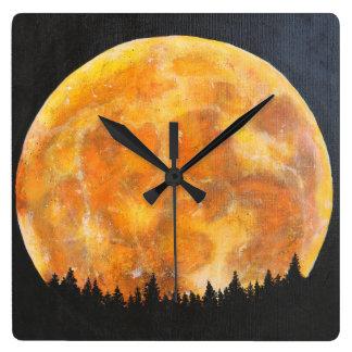 Moon Motive Wall Clock