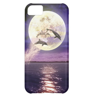 Moon Ocean Cover For iPhone 5C