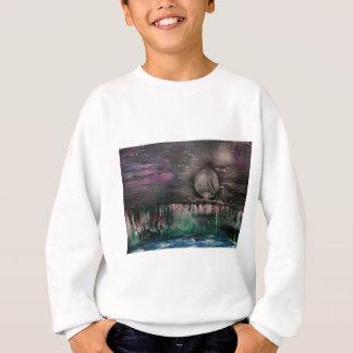 Moon on the mountains sweatshirt
