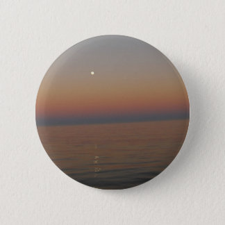 Moon on the sea 2 inch round button