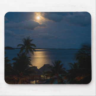 Moon one will bora will bora mouse pad