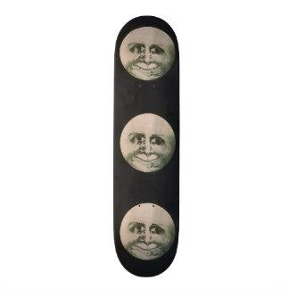 Moon Optical Illusion - So Fun Skateboard