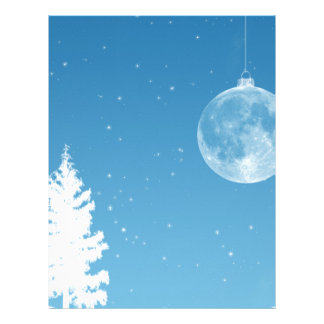 Moon Ornament Letterhead