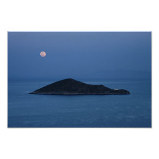 Moon Over Agia Kyriaki Poster