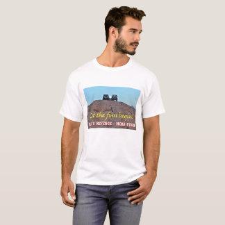 Moon Over Machines Moab Utah Tee Shirt
