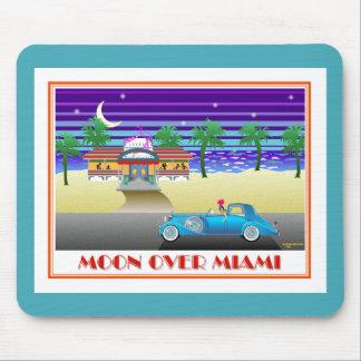 Moon Over Miami Aqua Mousepad