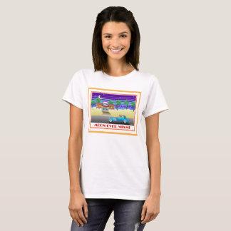 Moon Over Miami Orange T-Shirt
