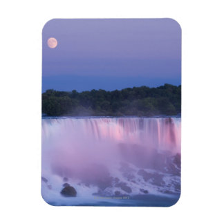 Moon over Niagara Falls Magnet