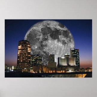 Moon Over Phoenix Poster