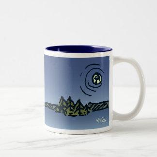 Moon over Picnic Island Mug