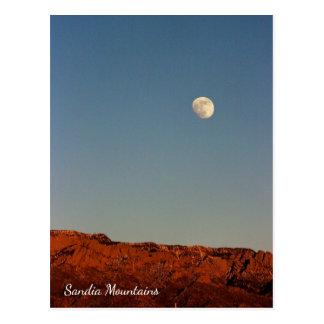 Moon Over Sandias Postcard